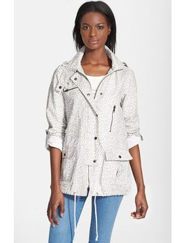 barker-a-leopard-print-jacket-with-stowaway-hood by joie