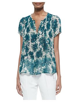 eitana-botanical-print-silk-top by joie