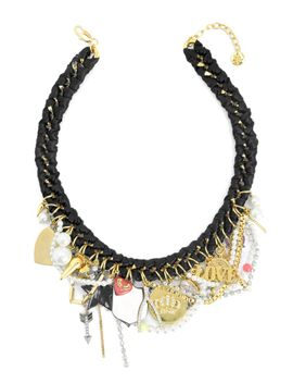 outlet---charm-love-drama-necklace by juicy-couture