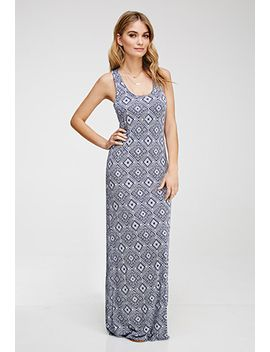 tribal-print-maxi-dress by forever-21