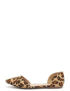two-piece-suits-me-leopard-dorsay-flats by lulus