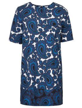 paisley-print-tunic-dress by topshop