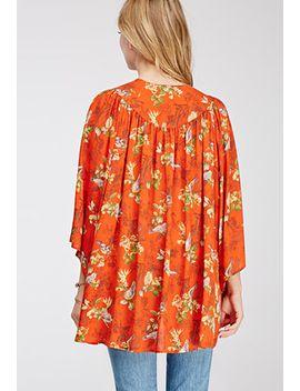 bird-print-kimono by forever-21