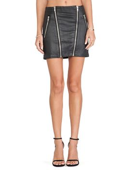 mikey-moto-skirt by lovers-+-friends