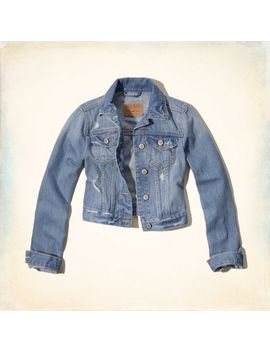 pebbly-beach-denim-jacket by hollister