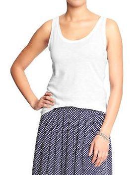 womens-relaxed-slub-knit-tanks by old-navy