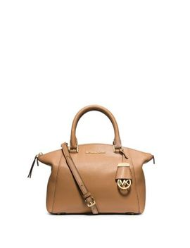 riley-small-pebbled-leather-satchel by michael-kors