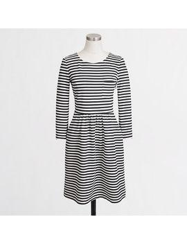 pocket-dress-in-stripe by jcrew
