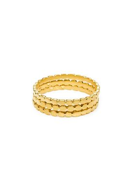 circle-gold-dipped-multi-circle-rings,-set-of-3---size-7 by dogeared