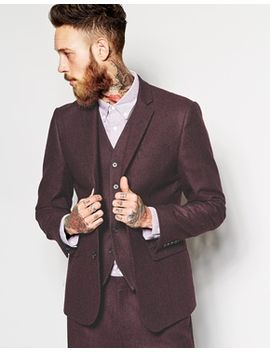 asos-slim-fit-suit-jacket-in-tweed by asos