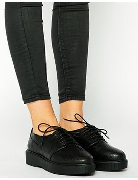 asos-mira-creeper-lace-up-shoes by asos-collection
