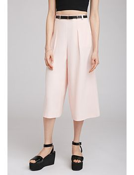pleated-gaucho-pants by forever-21