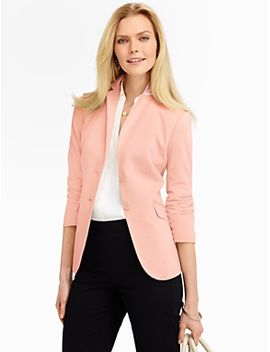 pique-knit-jacket by talbots