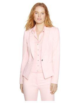 the-modern-long-sleeve-crepe-blazer by whbm