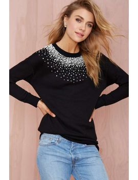 nasty-gal-so-scattered-beaded-sweatshirt by nasty-gal