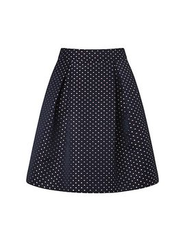 somerset-by-alice-temperley-sail-boat-jacquard-skirt,-blue by somerset-by-alice-temperley