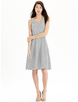 womens-ponte-knit-tank-dresses by old-navy