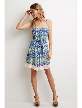 abstract-brushstroke-cami-dress by forever-21