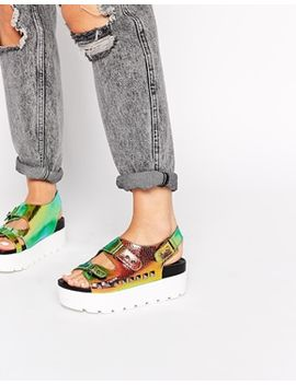 asos-fight-or-flight-studded-flatforms by asos-collection