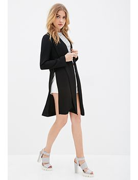 open-front-collared-jacket by forever-21