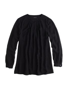 swiss-dot-blouse by jcrew