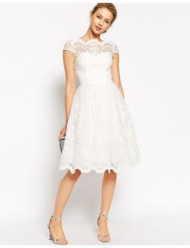 chi-chi-london-premium-lace-midi-prom-dress-with-bardot-neck by chi-chi-london