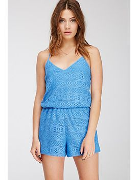 cami-crochet-romper by forever-21