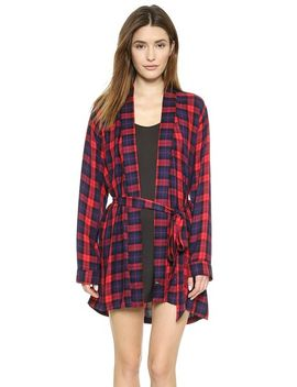 plaid-robe by rails