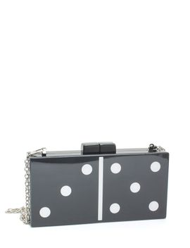 domino-rally-resin-clutch by gojane
