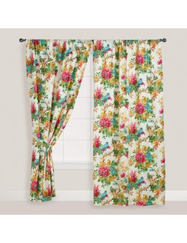 parrot-bird-ornithology-curtain by world-market