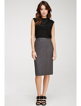 front-slit-pencil-skirt by forever-21