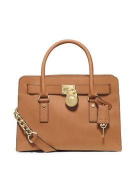hamilton-large-saffiano-leather-satchel by michael-kors