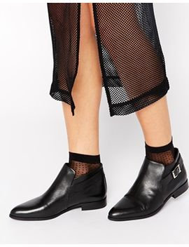 selected-ulisa-black-leather-ankle-boots by selected