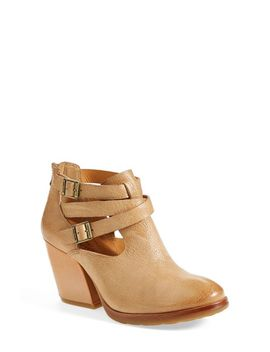 stina-leather-bootie by kork-ease®