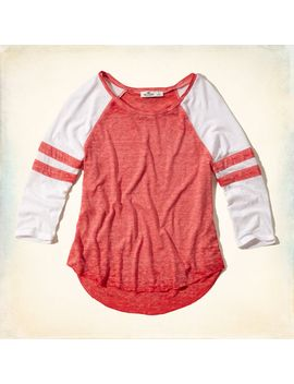 burnout-baseball-tee by hollister