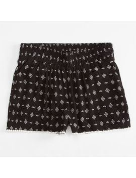 full-tilt-smocked-diamond-girls-shorts by tillys