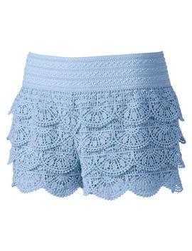 rewind-crochet-lace-shortie-shorts---juniors- by kohls