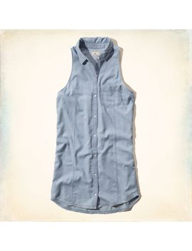 ventura-beach-chambray-shirt-dress by hollister