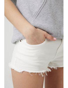 moto-white-daisy-shorts by topshop