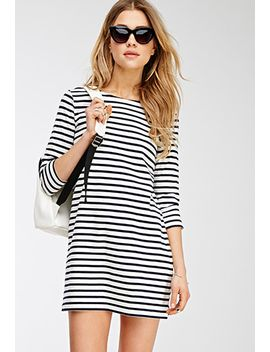 nautical-striped-shift-dress by forever-21