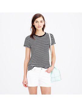 rolled-sleeve-pocket-t-shirt-in-stripe by jcrew