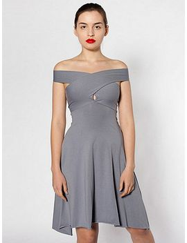 cotton-spandex-jersey-bandeau-dress by american-apparel