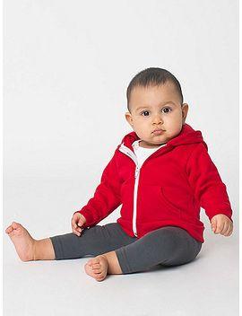 infant-flex-fleece-zip-hoodie by american-apparel