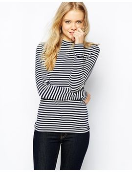 jack-wills-high-neck-striped-top by jack-wills