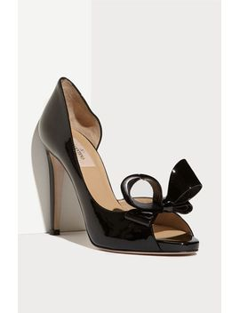 couture-bow-dorsay-pump by valentino-garavani
