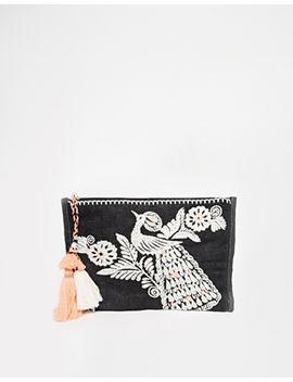 star-mela-dora-embroidered-clutch by star-mela