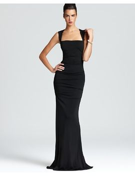 -gown---sleeveless-stretch by nicole-miller