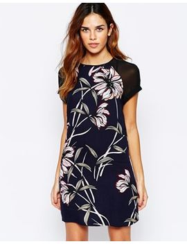 warehouse-wallpaper-printed-dress by warehouse