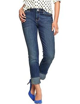 womens-the-boyfriend-straight-jeans by old-navy