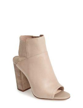 leka-open-toe-bootie by dolce-vita